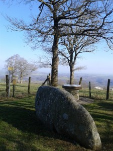dolmen and table