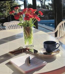Winter Sun and coffee
