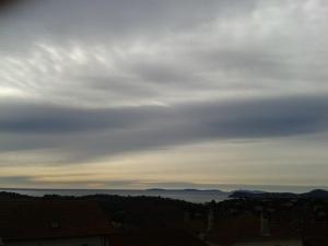 grey skies la Croix