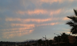 washboard clouds